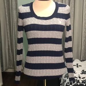 Cable knit US POLO ASSN sweater